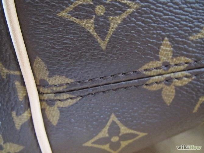 Šavovi nikad ne presjecaju LV logo - ovo na snimci je očito lažnjak