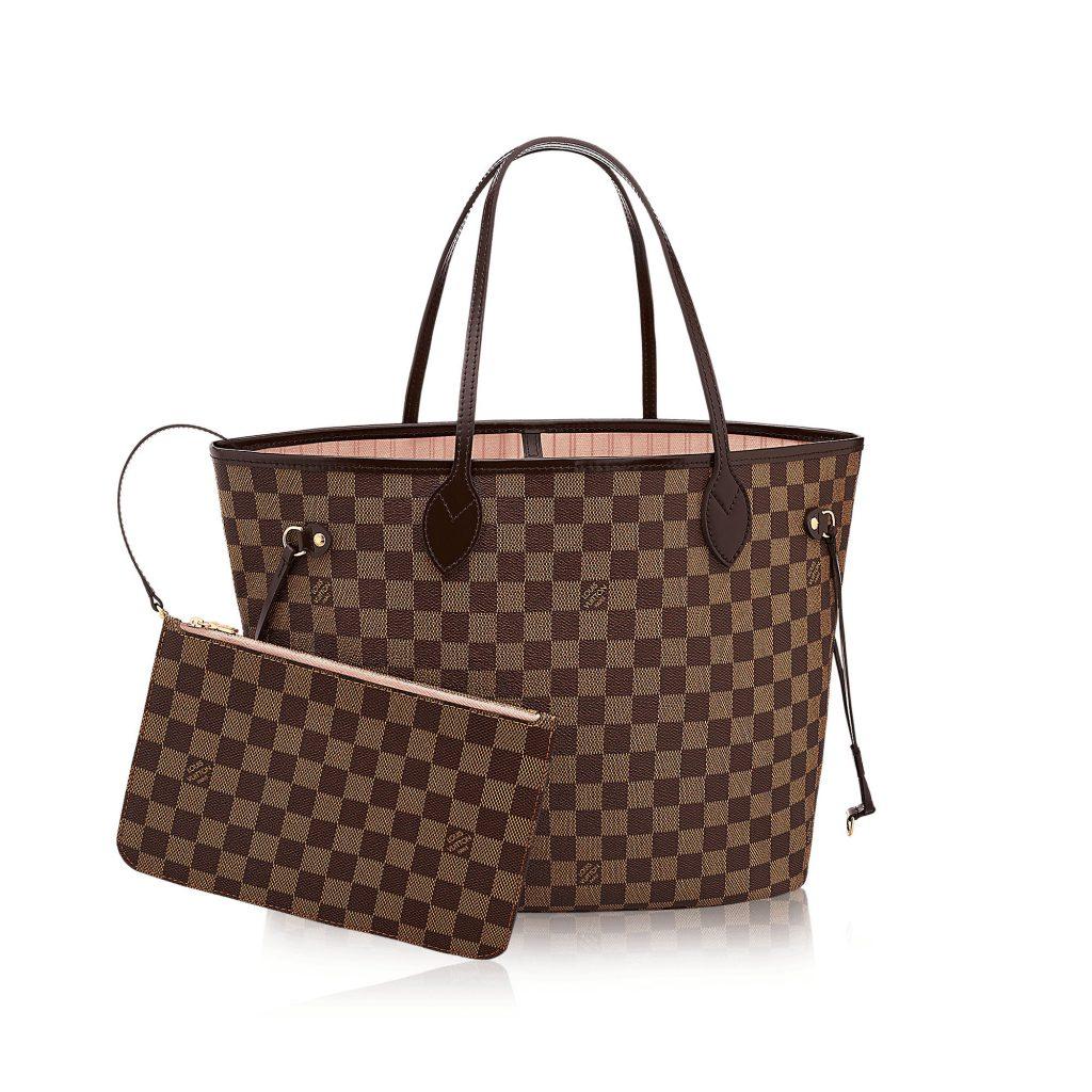 Originalna LV torba može biti platnena, ali uvijek ima kožni obrub